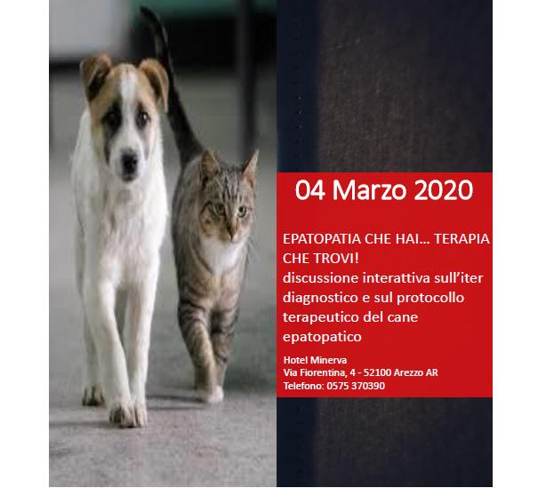 EPATOPATIA CHE HAI…TERAPIA CHE TROVI! Discussione interattiva sull'iter diagnostico e sul protocollo terapeutico del cane epatopatico